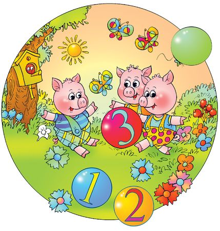 kiddish: Playing piglets