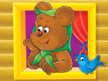 Brown bear photo