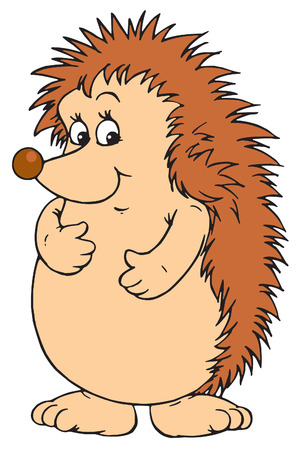 prickly: Hedgehog