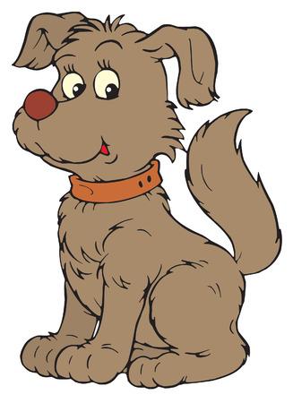 cartoon zoo: Dog