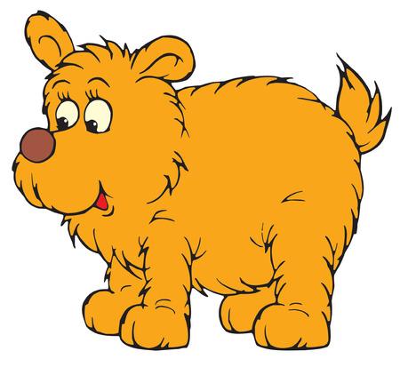 Funny Pup  Vector
