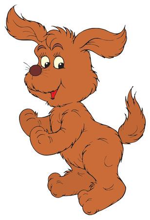 Brown Dog  Vector