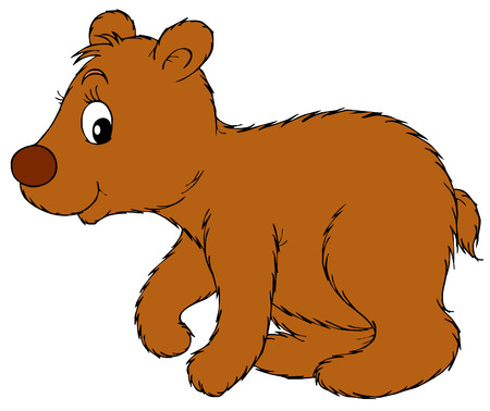 5 266 bear cub cliparts stock vector and royalty free bear cub rh 123rf com bear cub clip art free baby bear cub clipart