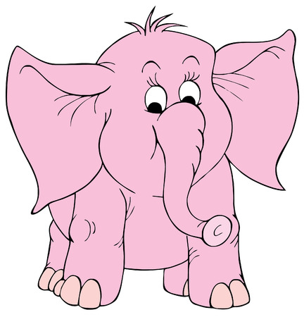 kiddish: Elephant Illustration