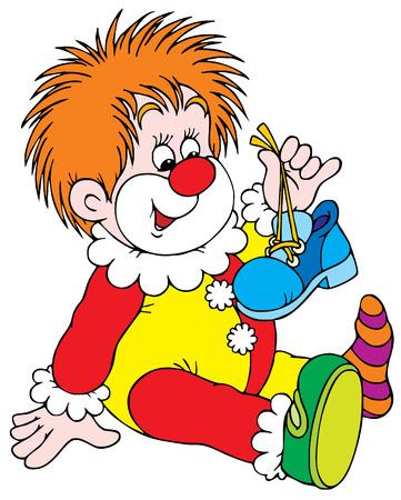 kid vector: Clown  Vectores