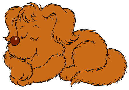 2 925 dog sleeping stock illustrations cliparts and royalty free rh 123rf com  clipart the dog is sleeping