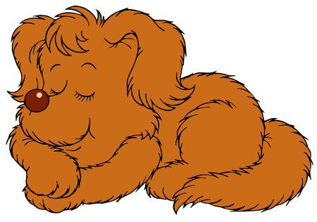 2 925 dog sleeping stock illustrations cliparts and royalty free rh 123rf com sleeping dog free clipart
