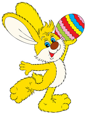 easter bunny: Happy Easter!