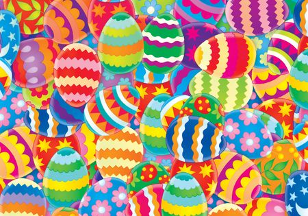 Easter background Stock Photo - 2679207