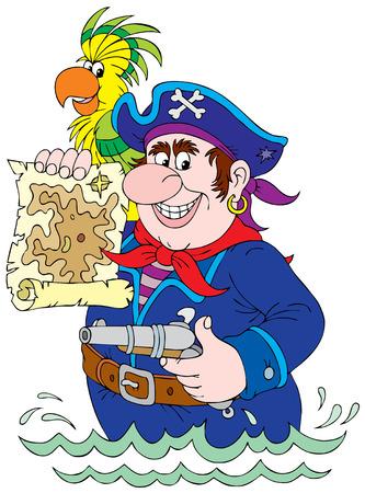 ridicolo: Pirata Vettoriali