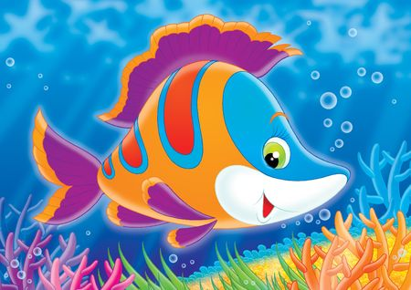 Coral fish Stock Photo - 2966857
