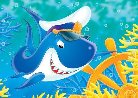White shark Stock Photo - 2966862