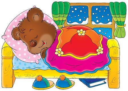 Sleeping Bear Stock Photo - 2966891