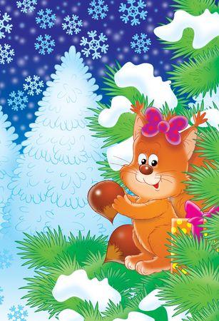Christmas night Stock Photo - 2966926