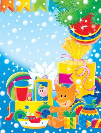 Christmas gifts Stock Photo - 2966927