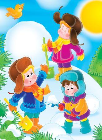 Winter vacation Stock Photo - 2966928