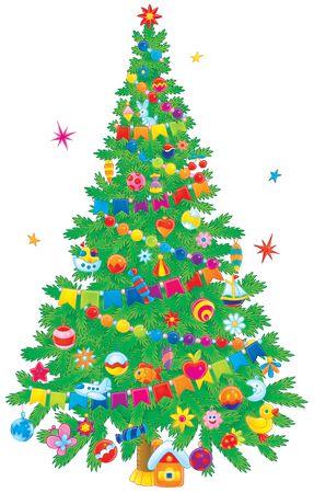 absurd: Christmas tree