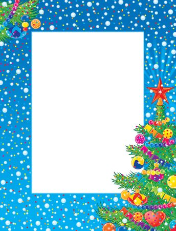 Christmas photo-frame Stock Photo - 2966949