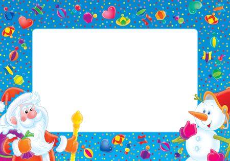 for children toys: Christmas photo-frame