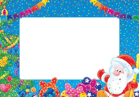 Christmas photo-frame Stock Photo - 2966953