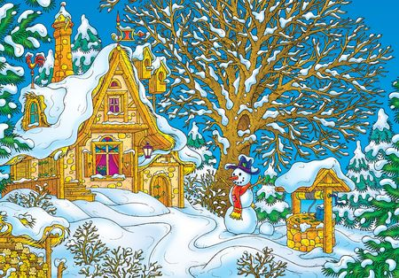 snowman wood: House of Santa Clause LANG_EVOIMAGES
