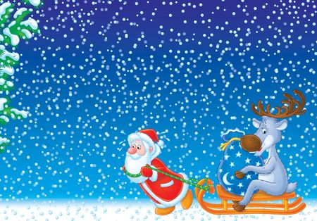 Christmas background, wallpaper Stock Photo - 2966965