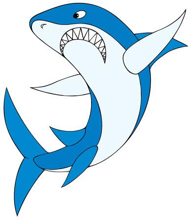 raptorial: Shark Illustration