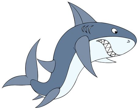 raptorial: Shark Illustration