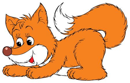 fox cartoon: Fox