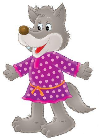 Grey wolf Stock Photo - 3103810