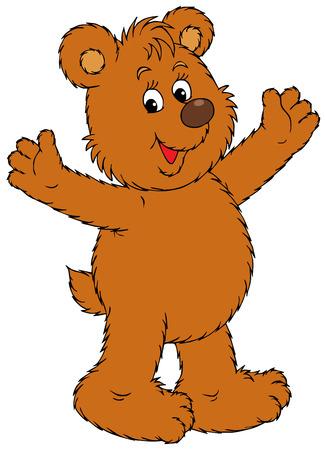 bear cub: Bear