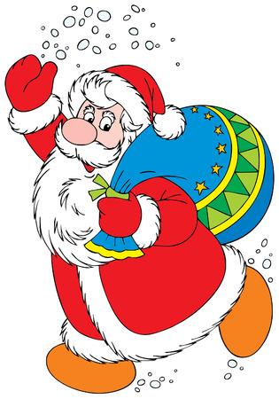 Santa Clause Vector
