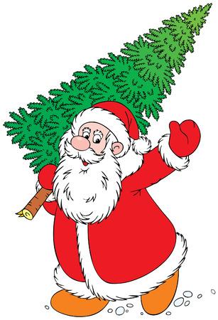Santa Clause Stock Vector - 3454021