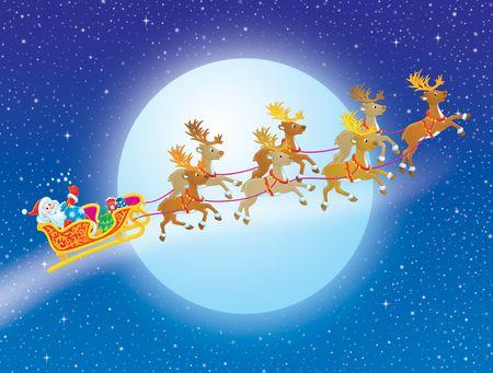 Night before Christmas Stock Photo - 3701687