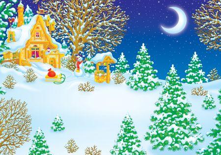 House of Santa Clause Stock Photo - 3701692