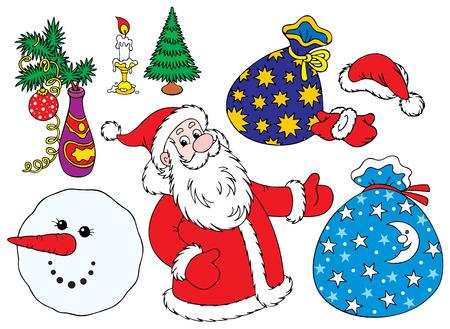 December clip-arts Stock Vector - 3713201