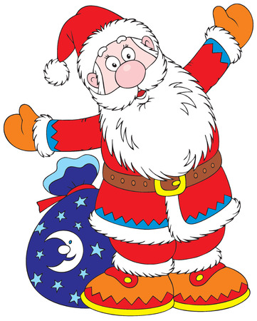 Santa Claus Stock Vector - 3871960
