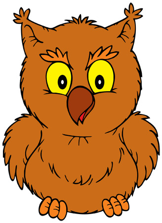 Owl Stock Vector - 3898683