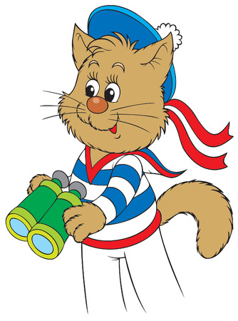 kijker: Kitten matroos