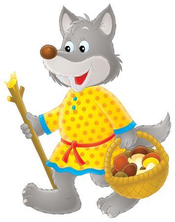 popular tale: Grey Wolf mushroomer