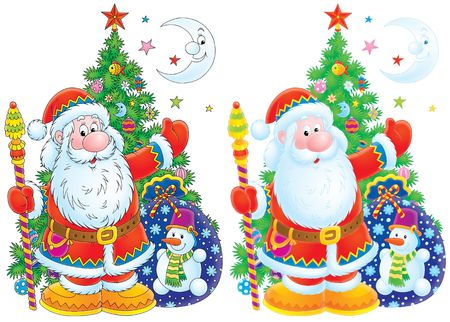 christmastide: Santa Claus Stock Photo