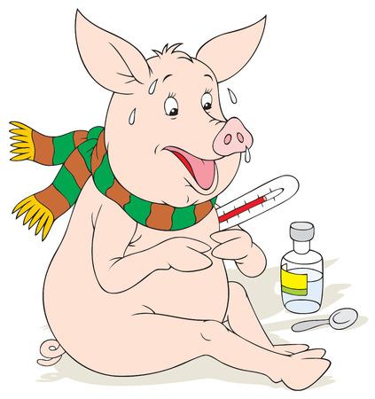 infectious disease: Gripe porcina