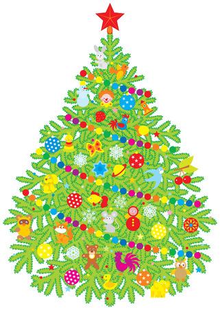 Christmas tree Stock Vector - 5468288