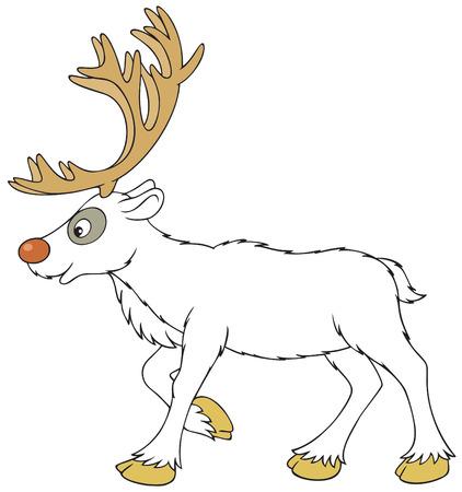 hoofed: Reindeer