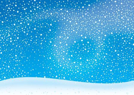 drifting: Snowstorm