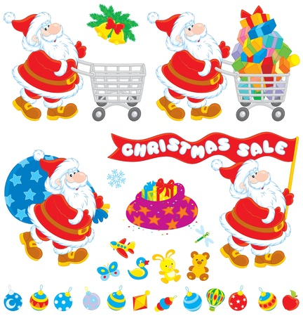 Christmas sale Stock Vector - 20481498