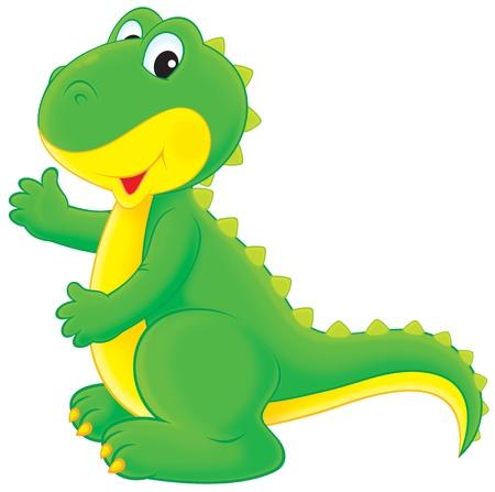 dinosaurio caricatura: Dinosaurio