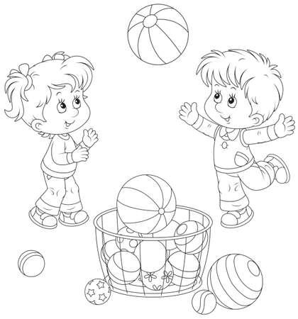 educacion fisica: Los niños juegan