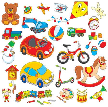 toys clipart: Toys