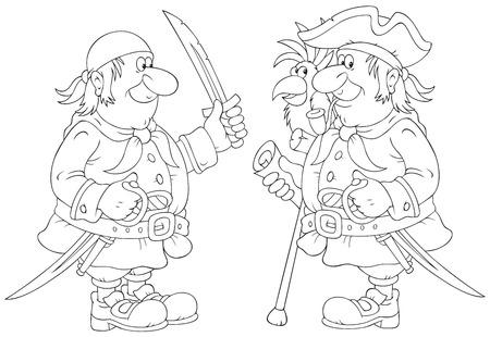 sombrero pirata: piratas Vectores